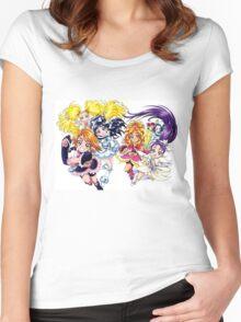 Precure Splash Star Women's Fitted Scoop T-Shirt