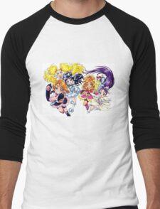 Precure Splash Star Men's Baseball ¾ T-Shirt