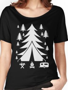 I LOVE CAMPING Women's Relaxed Fit T-Shirt