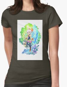 Final Fantasy Crystal Chronicles Womens Fitted T-Shirt