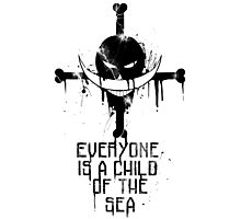 Everyone Is A Child In The Sea Photographic Print