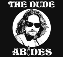 The Dude Abides - The Big Lebowski T-Shirt