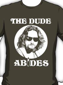 The Dude Abides - The Big Lebowski T-Shirt