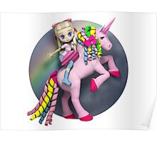 I didn't believe in unicorns until I rode one. Poster