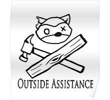 Outside Assistance Poster