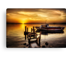 I Will Wait For You Canvas Print