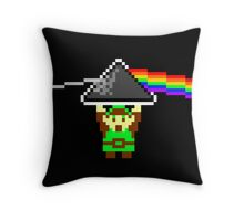 A Link to the Dark Side of the Moon  Throw Pillow