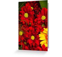 Scarlet Flowers Greeting Card