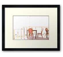 Tea for 2 Framed Print