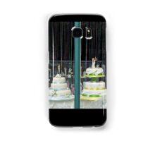 Wedding cakes Samsung Galaxy Case/Skin