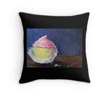 Cupcake Crumbles Throw Pillow
