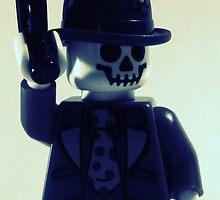 Skullz the clown gangster by TortoiseFunk
