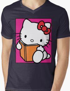 Hello Kitty Mens V-Neck T-Shirt