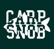 Carp Snob Fisherman's Shirt by everyplate