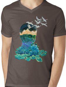 Meditation Mens V-Neck T-Shirt