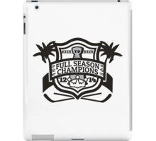 Back to Back Full Season Champions - Modern iPad Case/Skin