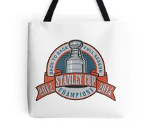 Back to Back Full Season Champions - Retro (Stitched) Tote Bag