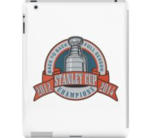 Back to Back Full Season Champions - Retro (Stitched) iPad Case/Skin