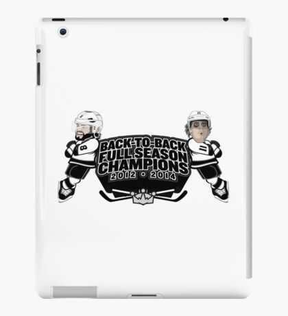 Back to Back Full Season Champions - Cartoon iPad Case/Skin