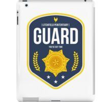 Litchfield Penitentiary : Guard  iPad Case/Skin