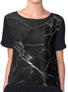 black marble Chiffon Top