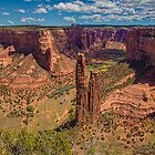 USA. Arizona. Canyon de Chelly National Monument. Spider Rock. by vadim19