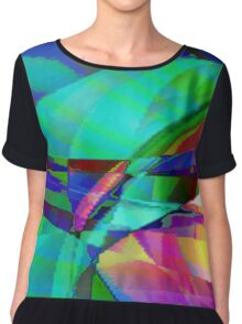 Scattered Colours Chiffon Top