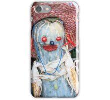 funny zucchino iPhone Case/Skin