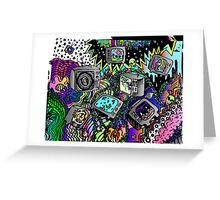 TV doodle  Greeting Card