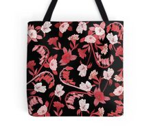 Alstroemeria, Bluebell and Camellia Japonica Tote Bag
