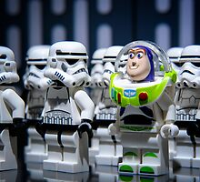 "Lego Star Wars Characters iPhone Cases and Table Covers: ""First Day on the Job""  by Blue Toad Photography"