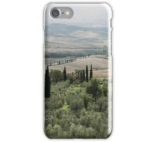 tuscany landscape  iPhone Case/Skin