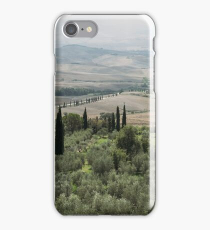 tuscany landscape  iPhone Case/Skin