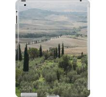 tuscany landscape  iPad Case/Skin