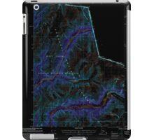 USGS TOPO Map Alaska AK Bradfield Canal A-2 354712 2000 63360 Inverted iPad Case/Skin