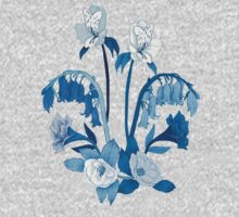 Alstroemeria, Bluebell and Camellia Japonica Baby Tee