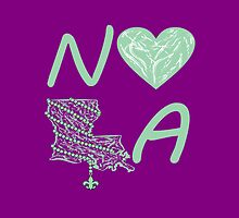 I heart NOLA (Mint Green) by StudioBlack