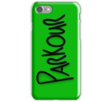 Parkour phone case #2 iPhone Case/Skin