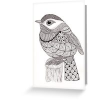 Tangled Little Flycatcher Greeting Card
