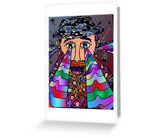 Wise Man of Music Greeting Card