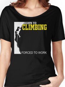 funny climbing Women's Relaxed Fit T-Shirt