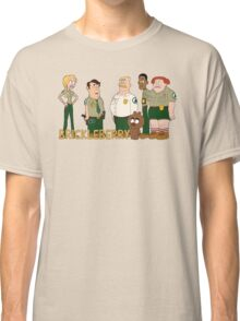 Brickleberry - the gang Classic T-Shirt