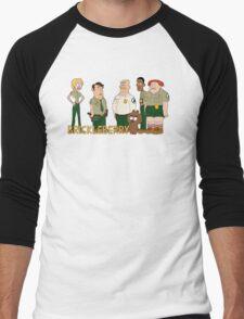 Brickleberry - the gang Men's Baseball ¾ T-Shirt