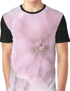 Pink Smoked Floral Graphic T-Shirt