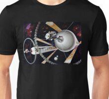 Space Exploration, Space Colony Unisex T-Shirt