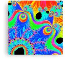 Psychedelic Pinwheel 1 Canvas Print