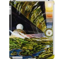 Space Colony, Cylinder iPad Case/Skin