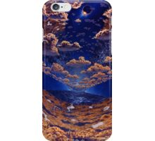 Space Colony Sunset iPhone Case/Skin