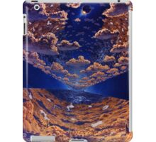 Space Colony Sunset iPad Case/Skin