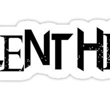 Silent Hill (Black) Sticker